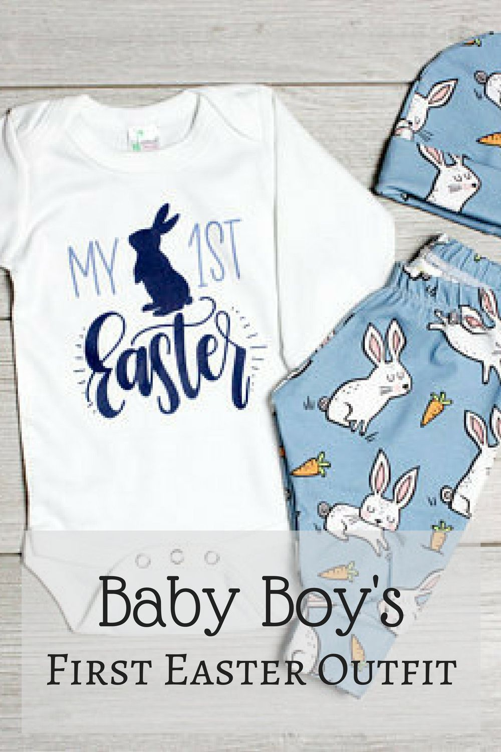 ebcf1114a6b2 Baby Boys First Easter Outfit