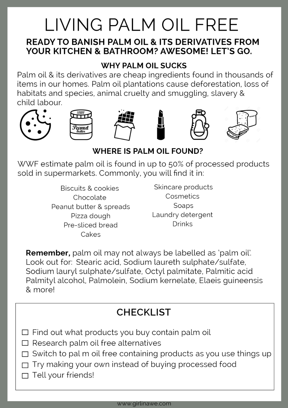Palm Oil Why Is It Bad How To Live Palm Oil Free A