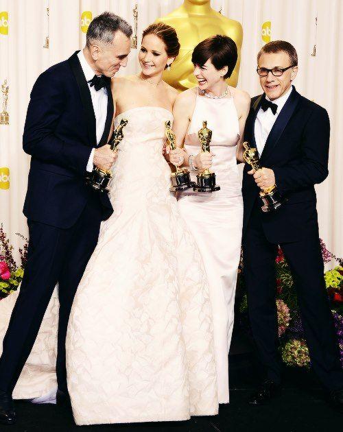 oscar winners 2013. | Best actress oscar, Jennifer ...