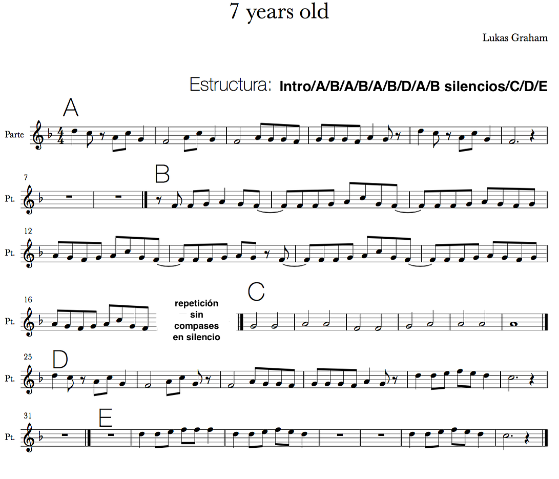 Free Piano Sheet Music New Age: Partitures Flauta