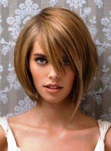 Coiffure mi long carré plongeant   Coupe de cheveux, Coiffure, Tendances coiffures