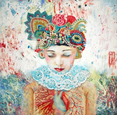 anatomical heart - Lori Field