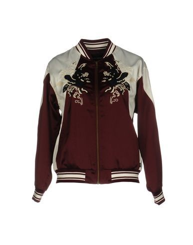OBEY Women's Jacket Maroon XS INT