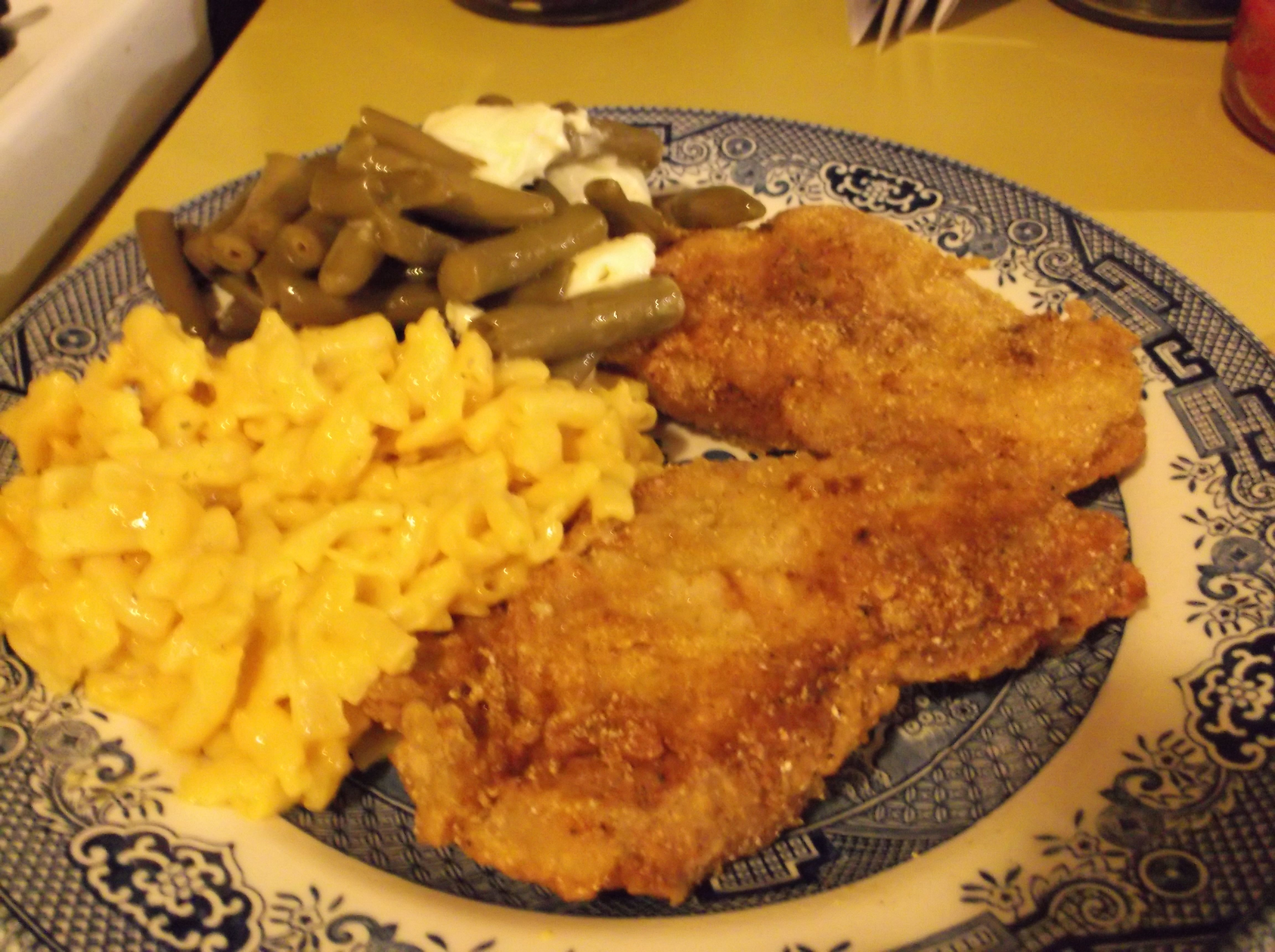 Fried Pork Chops Use 1 2 Cup Cooking Oil In A Medium