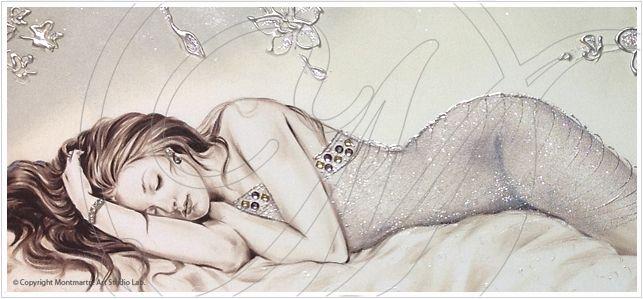 Nudo Artistico Quadro Ad Olio Su Tela Canvas 100 Cotone
