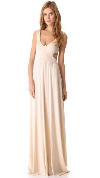 d2a34123aab Rachel Pally Long Cutout Dress
