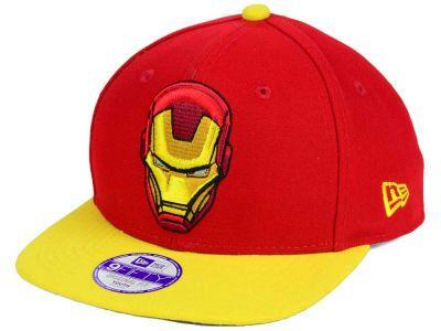 hot sale online 7910a 8c7f3 Ironman Marvel Jr Logo Grand 9FIFTY Snapback Cap