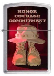 Honor Courage Commitment Zippo Lighter