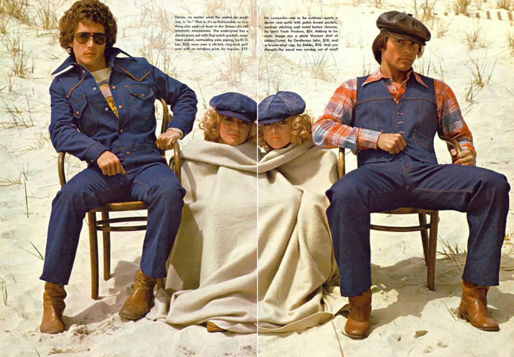 Decade of Denim: Jeans Ads and Fashions from the 1970s - Flashbak