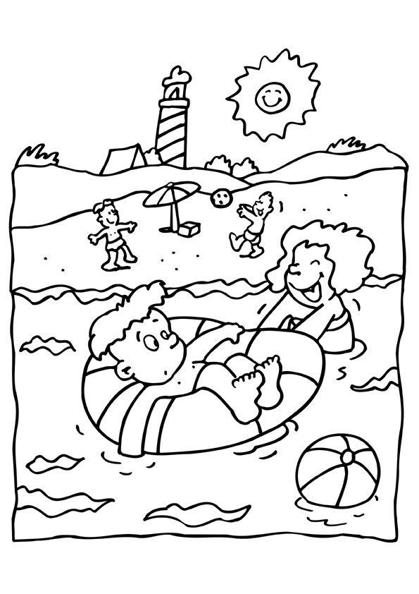Plop Kleurplaten Printen Kleurplaat Vakantie Kleurplaten Vakantie Arabic