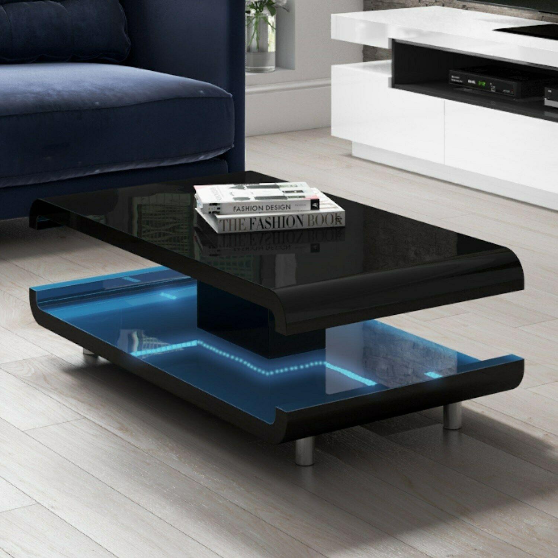 Gloss Black Coffee Table With Led Lighting Tiffany Tiff010a Coffee Table Black Coffee Tables Blue Sofa Set [ 1500 x 1500 Pixel ]