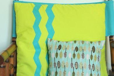 Chevron Striped Pillow Cover