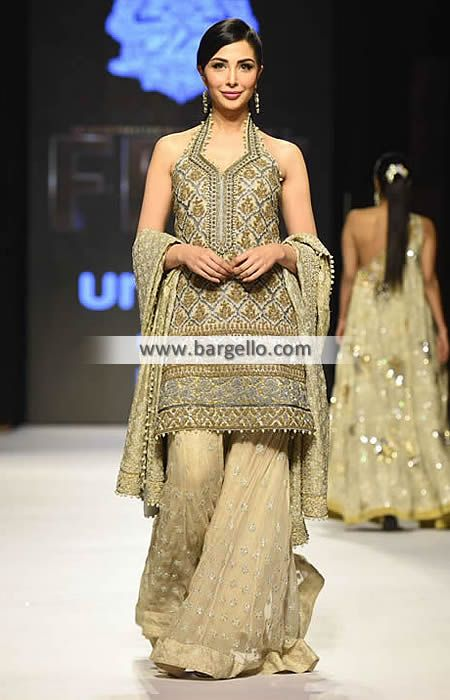 Umar Sayeed Bridal Dresses Syracuse New York Pakistani Bridal Sharara  Dresses