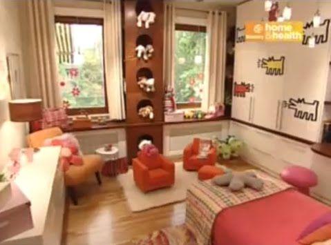 Dormitorio infantil candice olson dise o divino para bebita divine design video dormitorios - Diseno de habitaciones infantiles ...