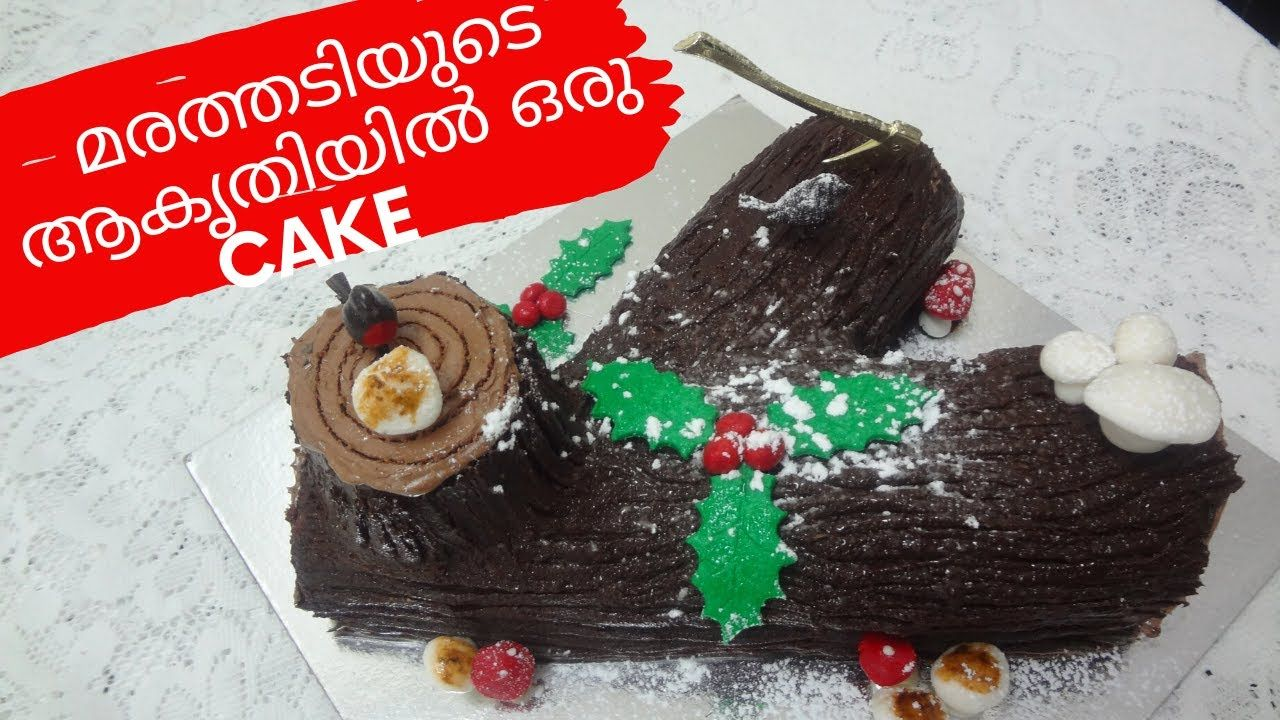 Chocolate Yule Log Cake Recipe|PANACH||EP||100||X'MAS SERIES 5