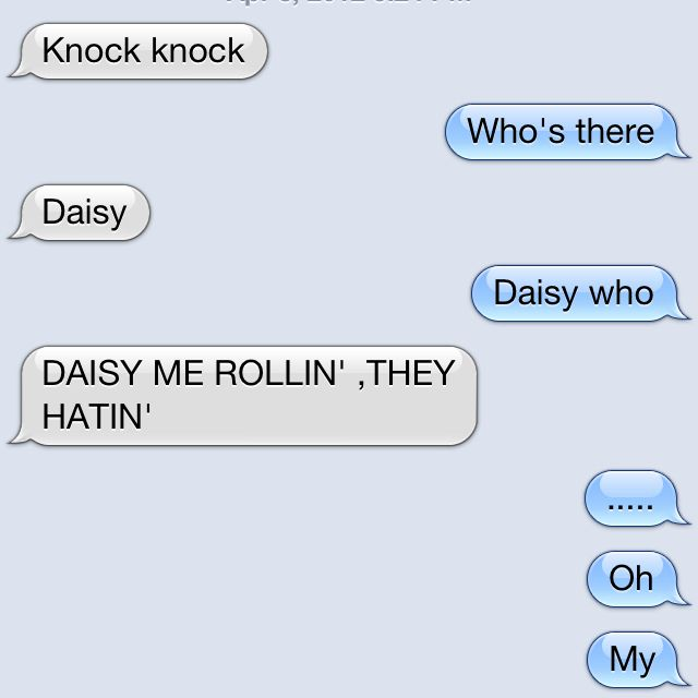 Knock Knock Joke Cant Stop Laughing About This Onelol