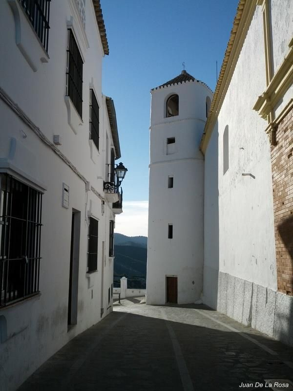 "32. ""Andalucía en Fitur"": Torre del Reloj en Zahara de la Sierra (Cádiz), by Juan de la Rosa Alonso"
