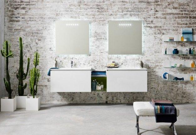 Foto Bagni Chiari : Mobili chiari per i bagni moderni bagno pinterest bagno