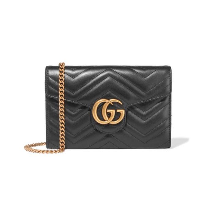 GG Marmont quilted-leather shoulder-bag Gucci vL3Hg