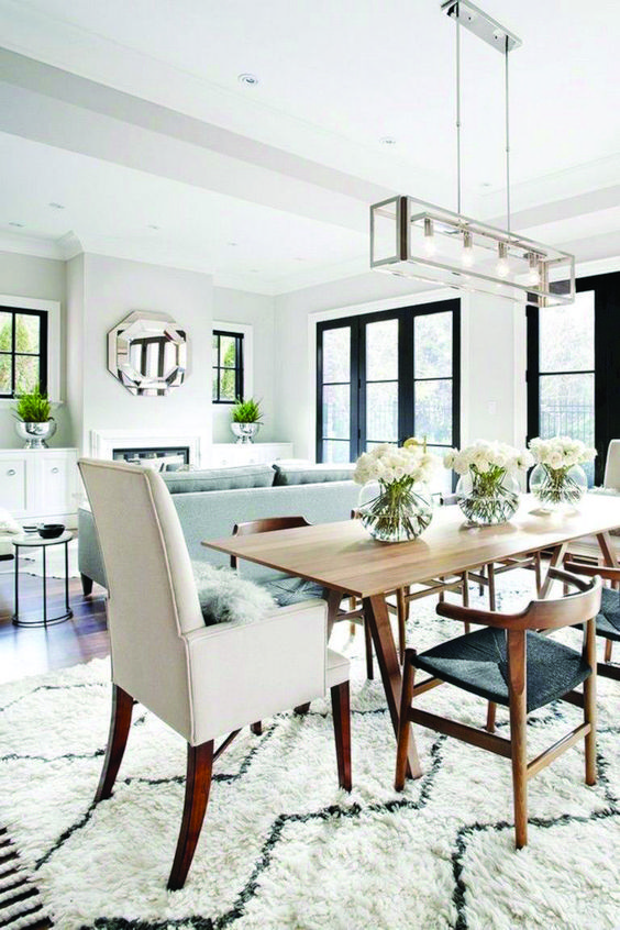 30 living room dining room combo ideas as one space for Living Dining Combo Small Space id=87788