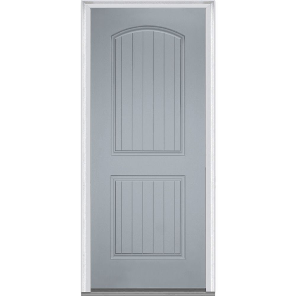 Doorbuild Panel Collection Fiberglass Smooth Prehung Door Prehung Doors Exterior Doors Entry Doors