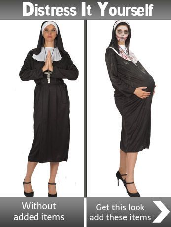 Diy zombie nun angels fancy dress costumes costumes pinterest diy zombie nun angels fancy dress costumes solutioingenieria Image collections