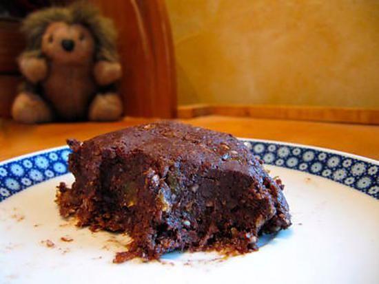 Gateau au chocolat, abricot, noix, sans cuisson, sans ...
