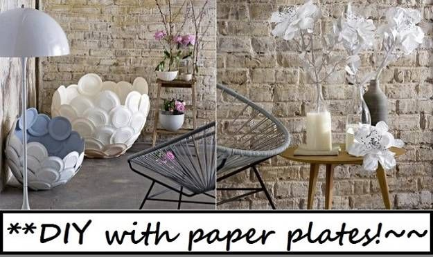 Paper Craft Ideas For Interior Decorating Recycled Crafts