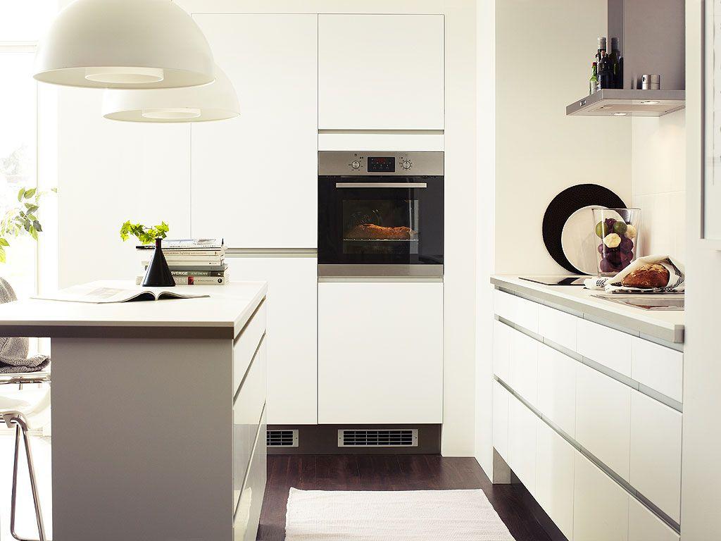 Ikea Faktum Keuken Interieur Moderne Witte Keukens Witte Keuken