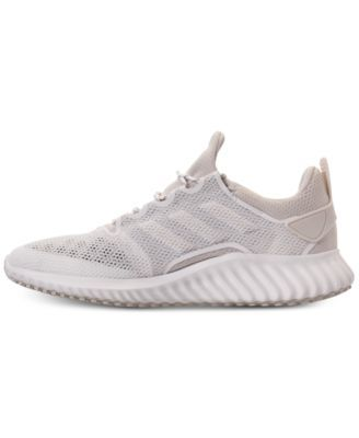 48b0becb303c adidas Men s AlphaBounce City Running Sneakers from Finish Line - White 11