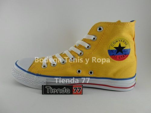 76eae5d526 Converse Bota All Star Seleccion Colombia Mundial 2014 Chuck Taylor  Sneakers, Colombia, Yellow Fever