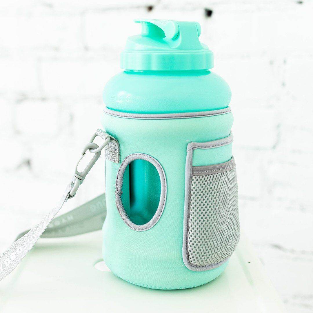 Mint Sleeve Gallon Water Bottle Bottle Drink Plenty Of Water