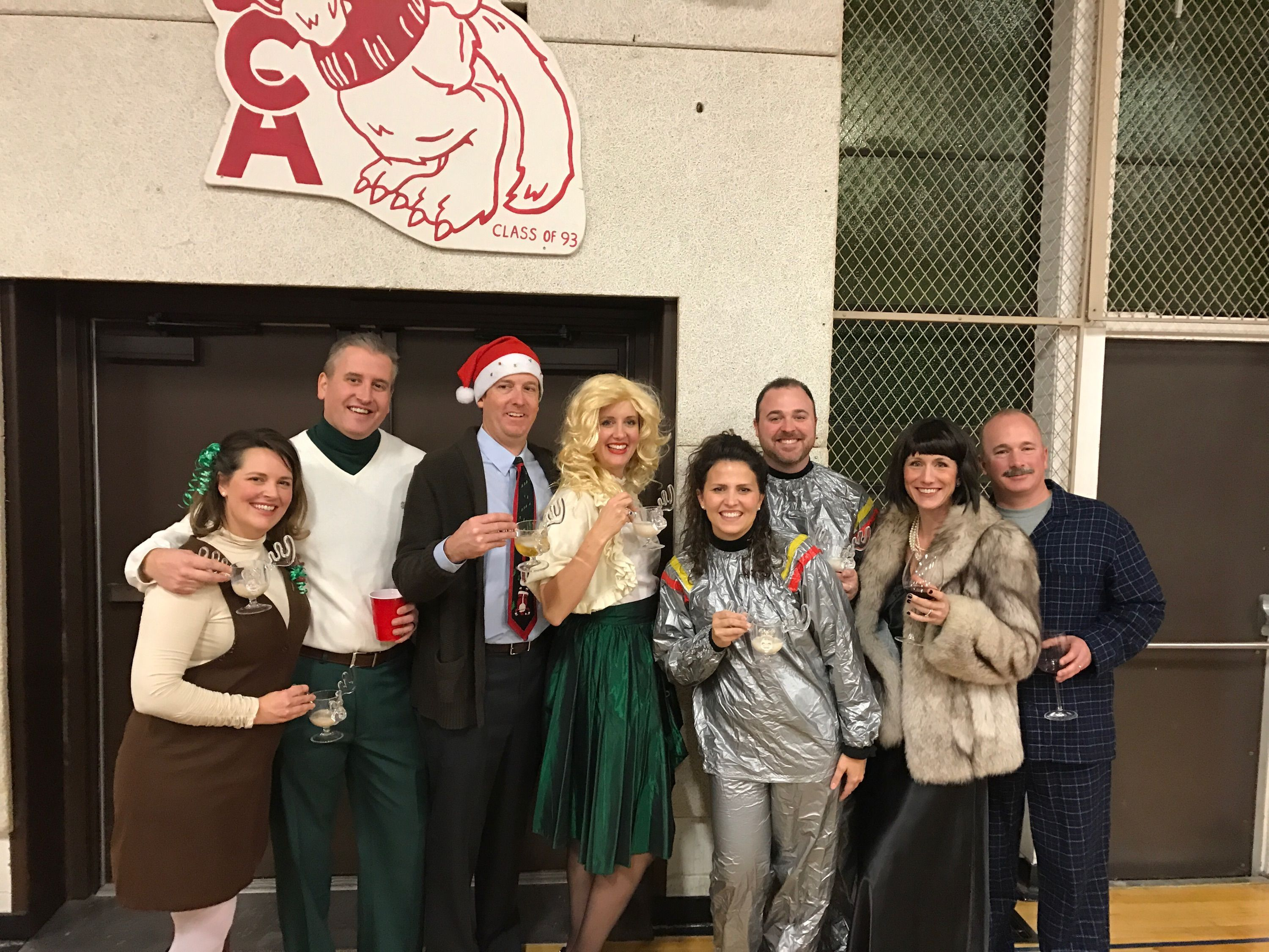 National Lampoons Christmas Vacation costumes on point