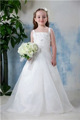 A line square neckline floor length flower girl dress flower girl a line square neckline floor length flower girl dress item code 10412018 mightylinksfo