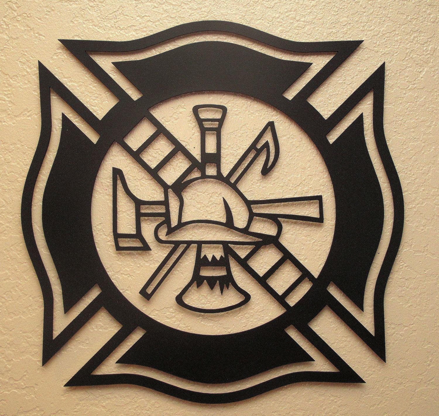 Image Result For Fire Department Maltese Cross Svg With Images Fire Fighter Tattoos Fireman Tattoo Plasma Cutter Art