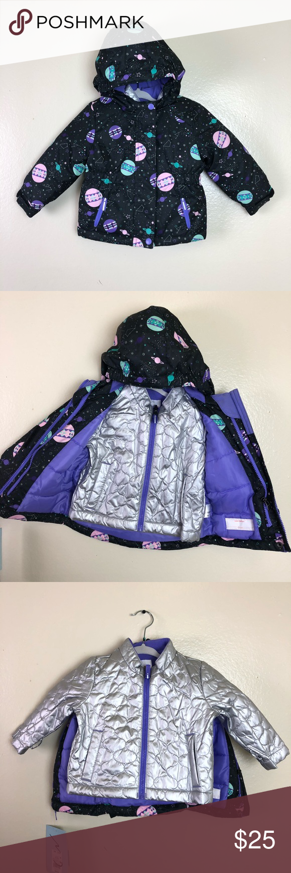 NWT Cat&Jack 3 in 1 all weather Jacket NWT All weather