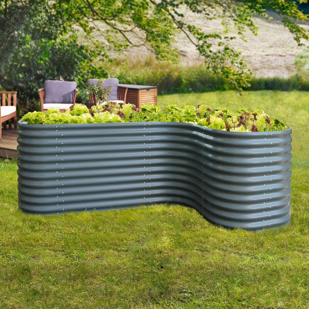 Gamoni De Ich Liebe Meinen Garten Vitavia Hochbeet Set 1 Granit Hochbeet Gabionen Hochbeet Und Garten Design