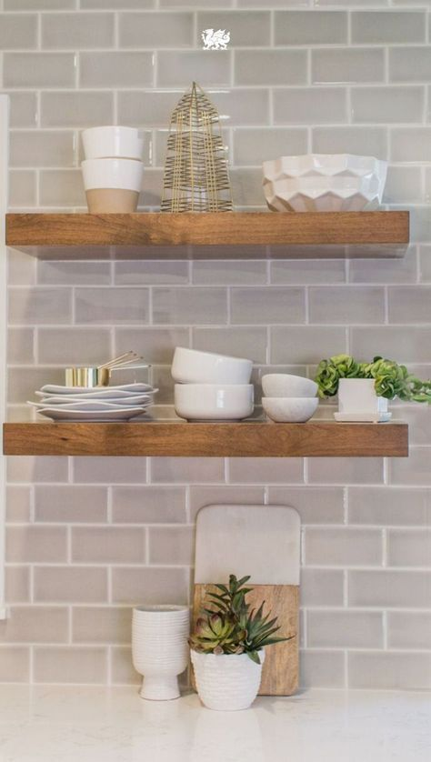 free up some space with these open kitchen shelving ideas on kitchen shelves instead of cabinets id=50976