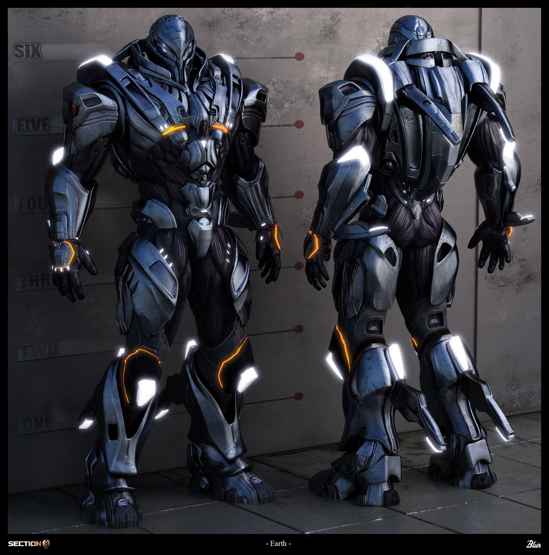 Sci Fi Armor Concept Art | The awesome power of battlesuit and armor concept art! / Iron man 2