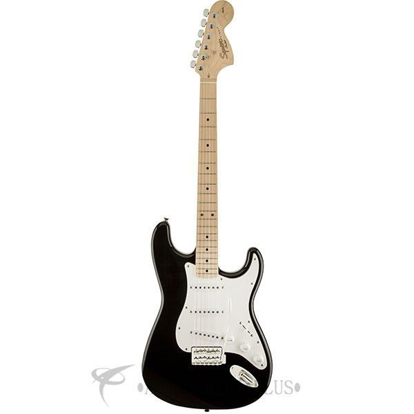 Fender Squier Affinity Stratocaster Maple Fingerboard Electric Guitar Black - 0310602506