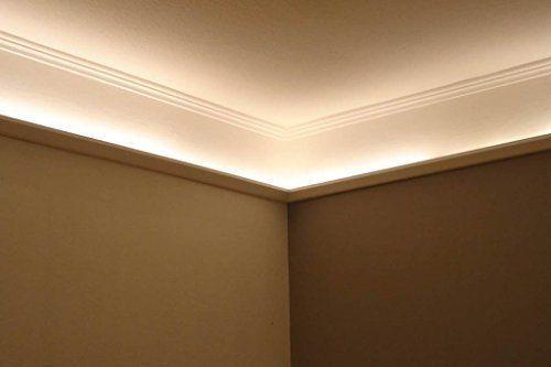 Moderne Lampen 85 : Bendu moderne und klassische led stuckleisten bzw lichtvouten