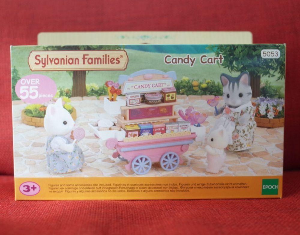 Sylvanian Families Free Shipping! Figure Candy Cart