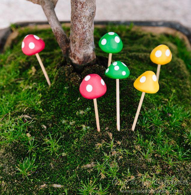 mini hongos para decorar jardines de fantas a jard n de