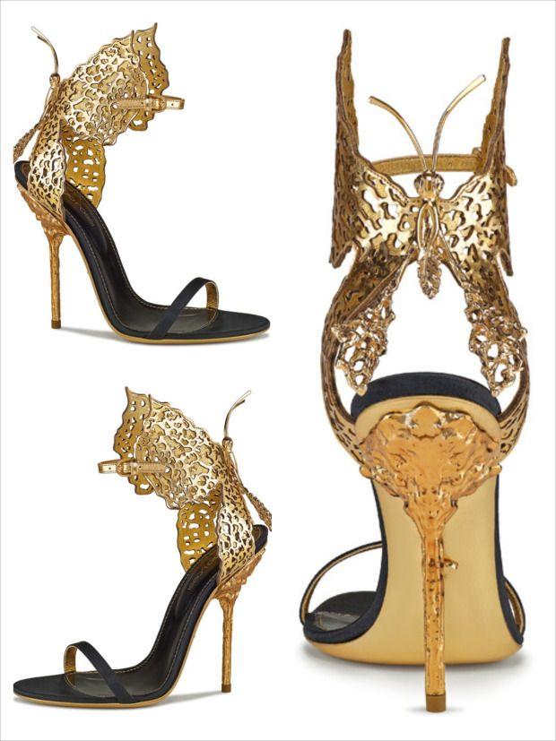 b58fcad3e147 Sergio Rossi s butterfly sandals in tribute to Gabriella Crespi – Fashion  Style Magazine