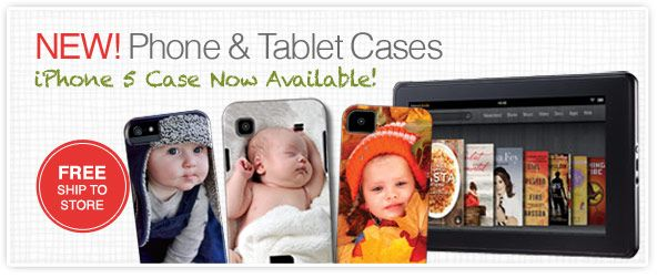 New Phone and Tablet Cases. Free Shipping to CVS. Starting