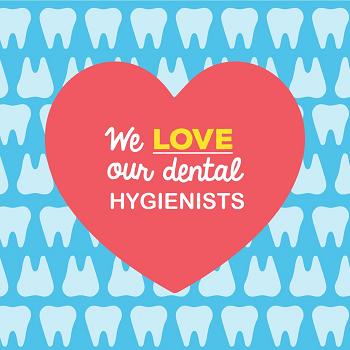 Celebrating our lovely Dental Hygienists this week! Linda