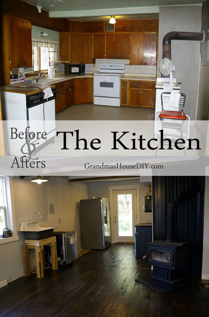Grandma S House Is Officially My House Before And Afters Renovation Farmhouse Kitchen Remodel Home Remodeling Kitchen Remodel