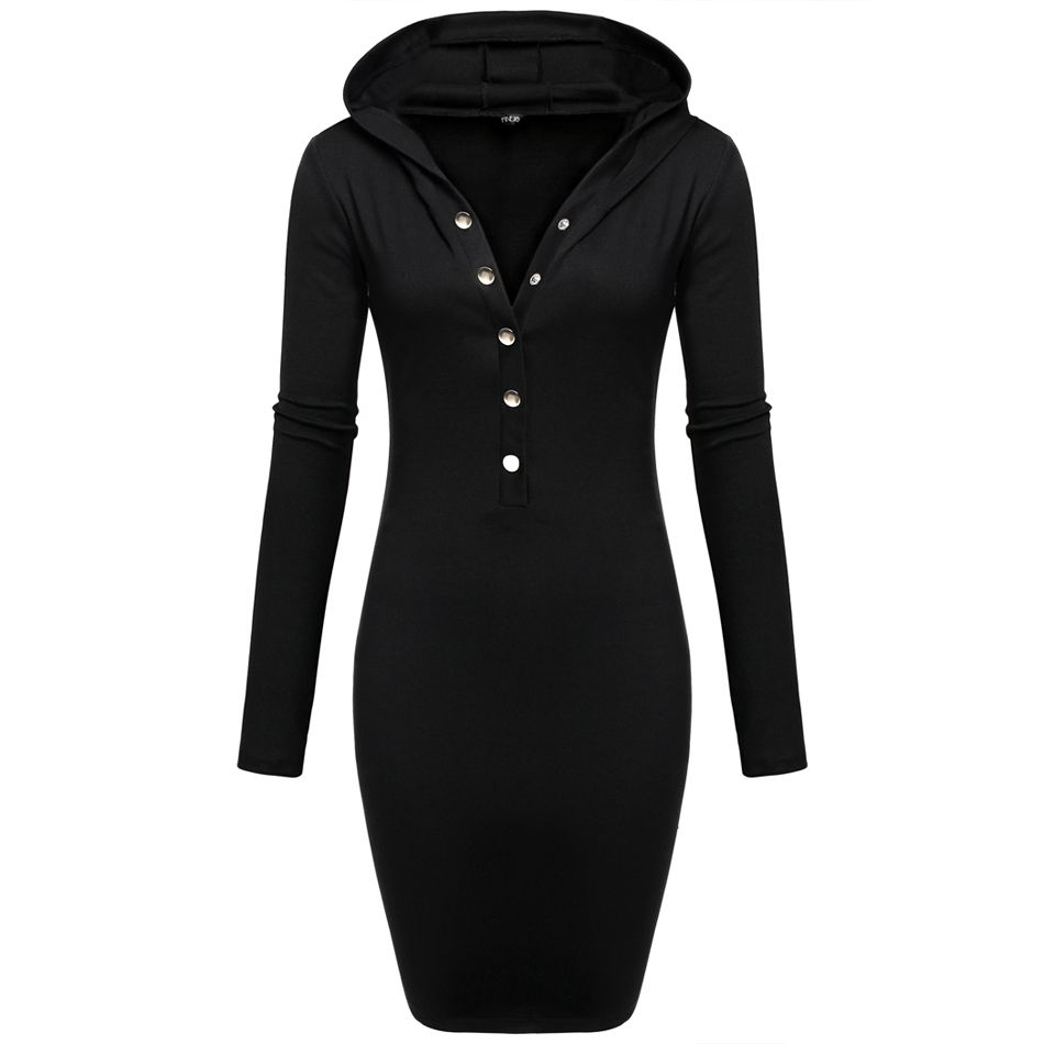 Pinterest Hooded Bodycon Dress Price: $25.99 & FREE