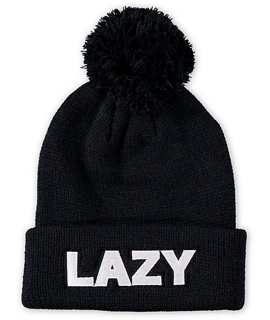 17a2a29361176 Add some chill factor to any outfit with this pom beanie made with a  comfortable thick knit construction and