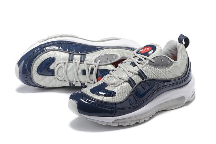 air max 98 grigie